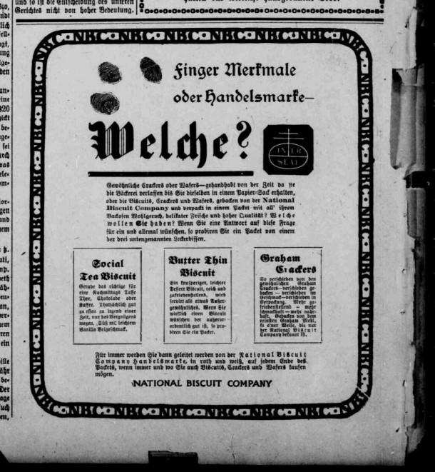 Biscuits -- December 20, 1905