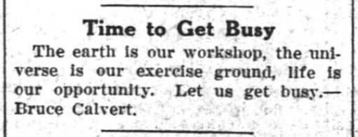 Hagerstown Exponent, Hagerstown, Indiana, October 22, 1925