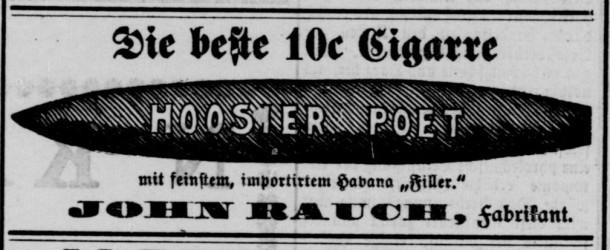 Hoosier Poet -- December 10, 1899