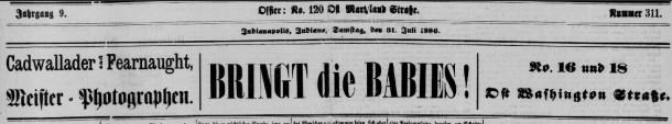Indiana tribune July 31 1886