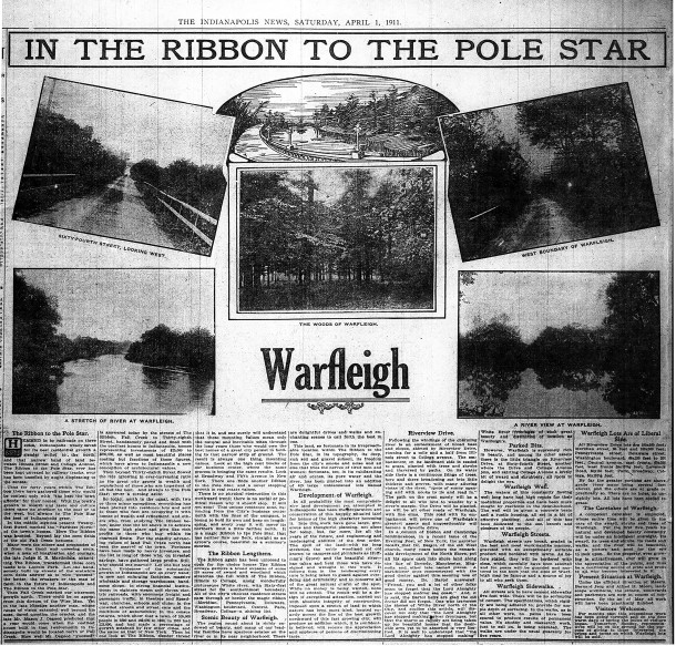 (1911 Indianapolis News article courtesy of newspapers.com)