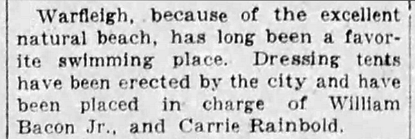 June 25, 1925 Indianapolis Star news clipping