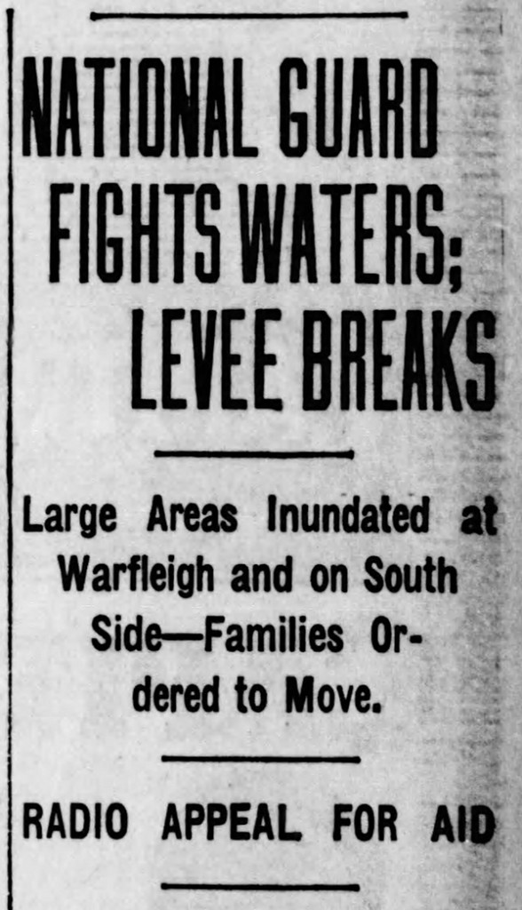 (1927 Indianapolis Star headline courtesy of newspapers.com)