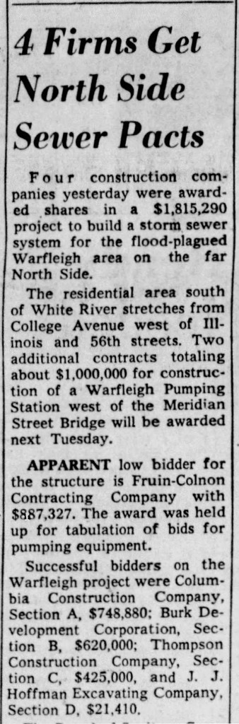(1958 Indianapolis Star article courtesy of newspapers.com)