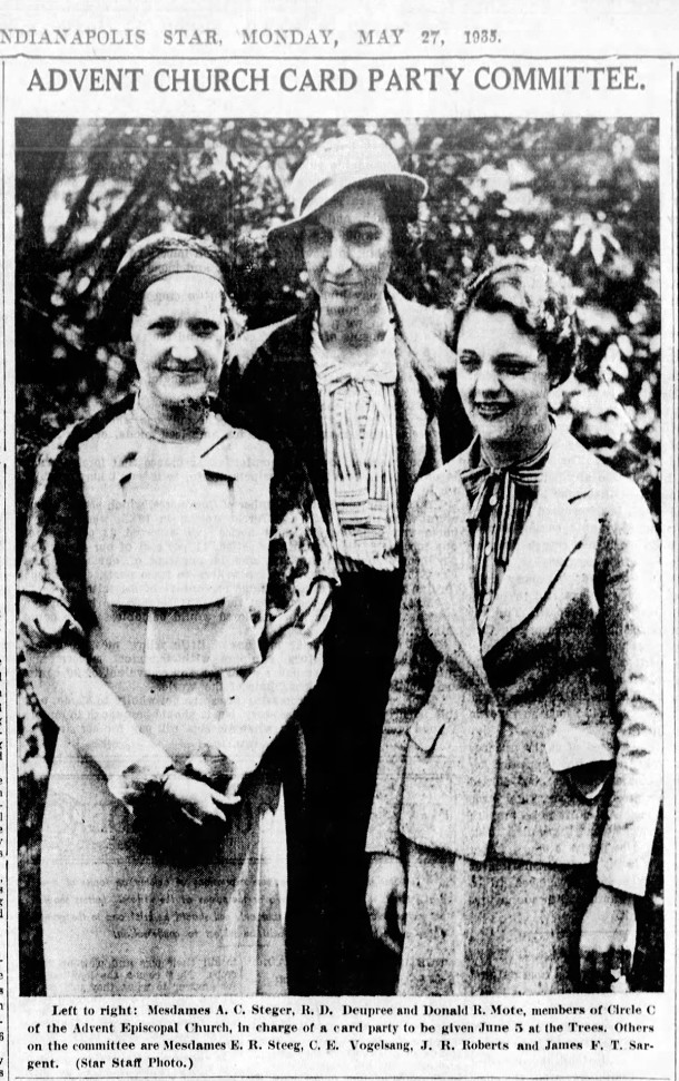 1935 Indianapolis Star photo