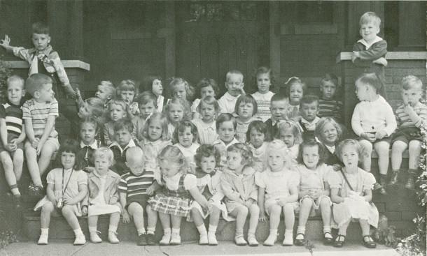 Church School Beginners in 1948 (photo courtesy of Trinity Episcopal Church)