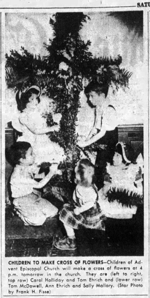 1951 Indianapolis Star article