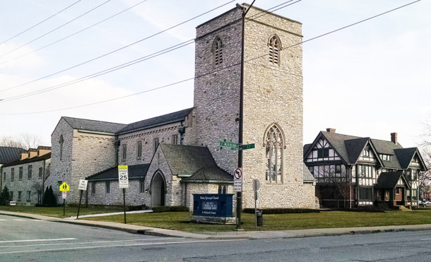 (2016 photo of Trunity Episcopal Church by Sharon Butsch Freeland)