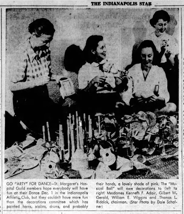 November 21, 1951 Indianapolis Star clipping