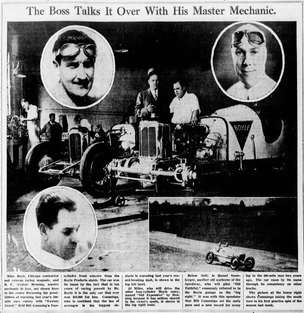 May 12, 1935 Indianapolis Star clipping