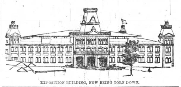 sketch of Grand Hall
