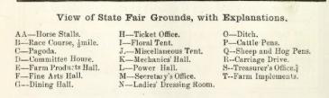 indiana state fair 1861 legend