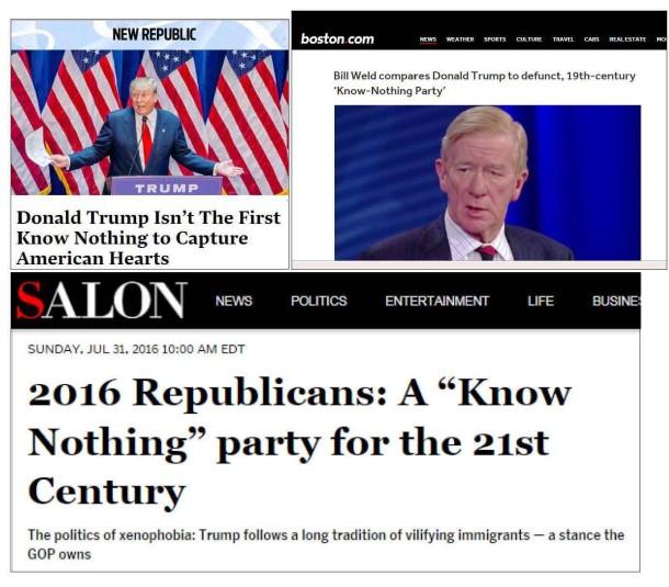 Trump headlines