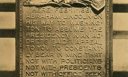Lincoln Spoke Here: The Other Marker