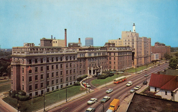 Then & Now: Wesley Hotel, 16th & Capitol - Historic